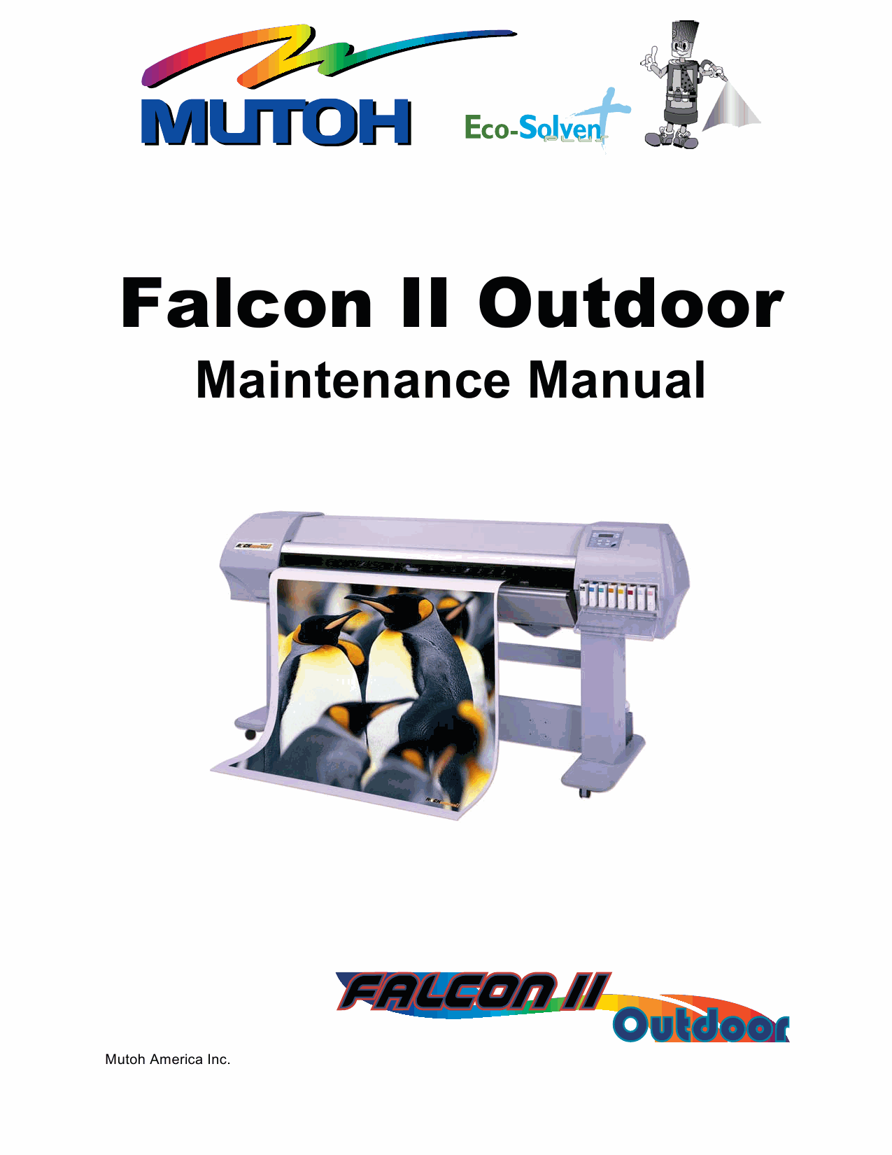 MUTOH FalconII Outdoor Service Manual-1